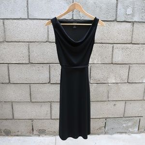 Black Mid Length Express Dress